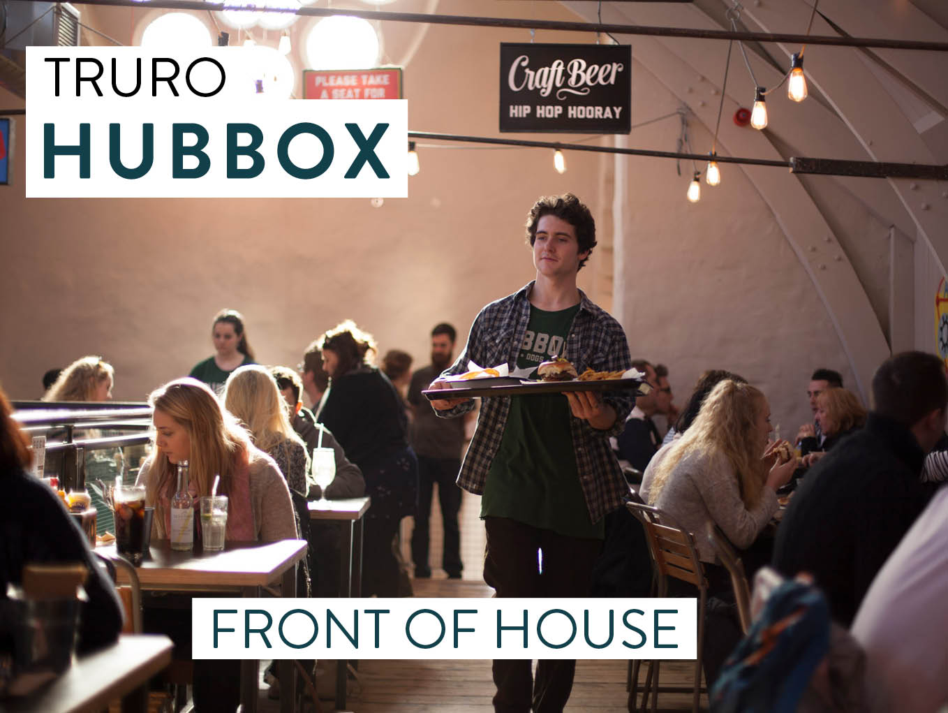 HUBBOX Truro Front of House