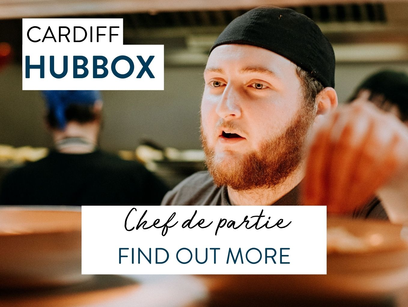 Hubbox Cardiff recruitment chef de partie